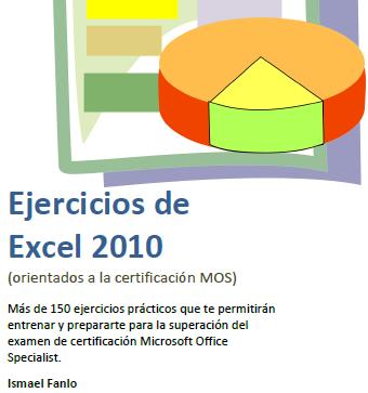 Caratula del libro de ejercicios Excel 2010