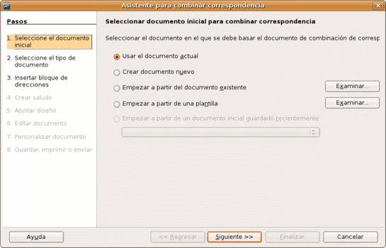 asistente combinacion correspondencia 1