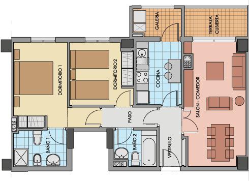 Acotar objetos en draw - Dibujar planos de casas ...